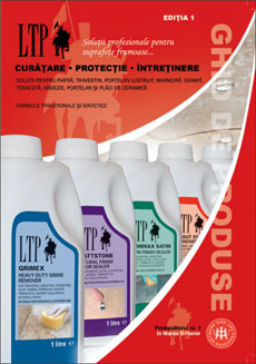 Catalog produse curatare, protectie, intretinere