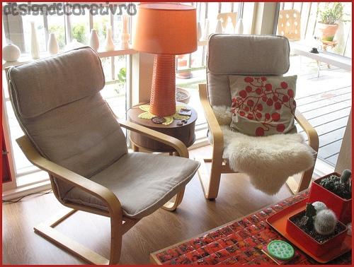 Amenajari interioare living - mobila sufragerie - Poze, Photo, Imagini